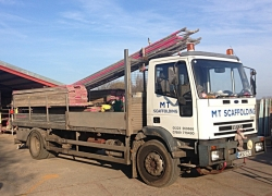 MT Roofing & Scaffolding Vehicles