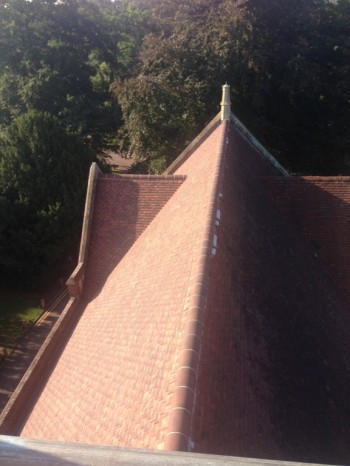 Roof Slate and Tile Restoration at The Leys School, Cambridge